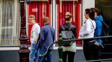 Amsterdam's red light district during coronavirus