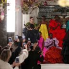 Valentino brings poetry to Paris with feast of flowers