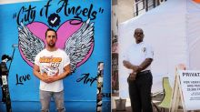 Only people famous on social media can pose in front of this new security-guarded mural in L.A.