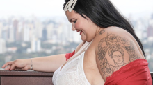 'Mulher gorda pode ter uma gravidez saudável e eu sou prova disso', diz Thais Carla