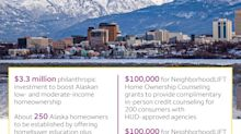 Alaska Homeownership to Get $3.3 Million Boost