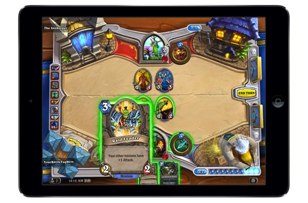 Blizzard takes a stab at mobile gaming, brings its free card game to the iPad