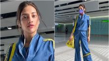 Actor-MP Nusrat Jahan Gives Major Fashion Goals as She Flies to London for Work
