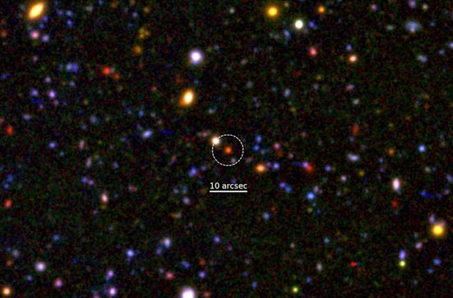 Discovery shows early galaxies could have very short lives
