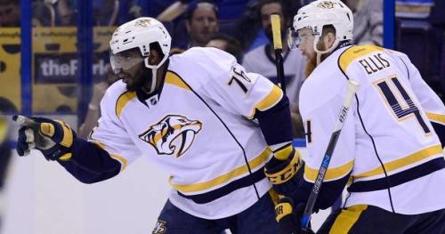 Hockey - NHL - Tout bon pour Nashville et Edmonton