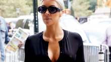Kim Kardashian Cut Her Dresses Down To North West's Size