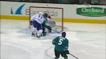 Matt Nieto sets up Couture for the goal