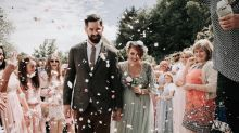 Savvy couple have budget outdoor wedding for less than £3,500: Here's how they did it