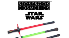 "Storybook Cosmetics to Launch ""Star Wars"" Lightsaber Makeup Brushes"