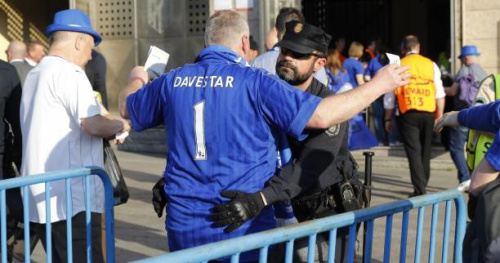 Foot - C1 - Leicester - Deux nouveaux supporters de Leicester arrêtés à Madrid