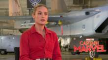Brie Larson on what it means to be Captain Marvel: 'I found a level of strength that I didn't know I had'
