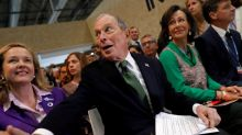 U.S. presidential candidate Bloomberg regrets telling 'bawdy' jokes