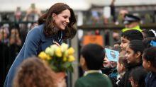 Duchess of Cambridge launches children's mental health scheme at north London school