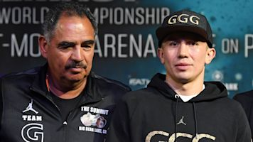 GGG splits with trainer in dispute over money