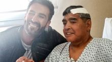 Haunting final photo emerges after Diego Maradona's death