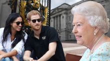 Príncipe Harry presenta a Meghan Markle a su abuela la Reina