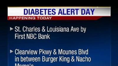 Taking It To The Streets For Diabetes Alert