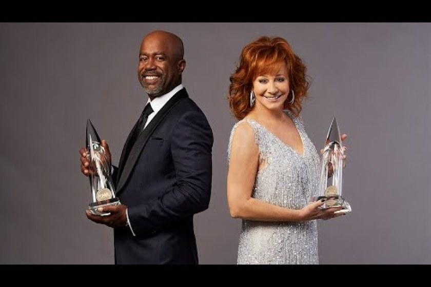 Reba McEntire and Darius Rucker are co-hosting the 2020 CMA Awards