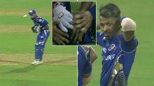 Wicketkeeper felled in freak, 'horrible' IPL falcon