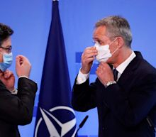Nato chief throws his weight behind Ukraine as Moscow continues to ratchet up war rhetoric