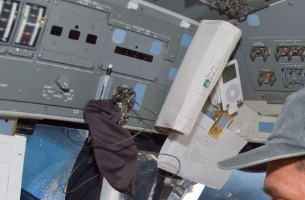 Contest winner's playlist will be sent to space aboard iPod