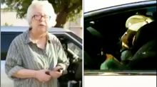 Woman calls the police on mother sitting in car with her baby