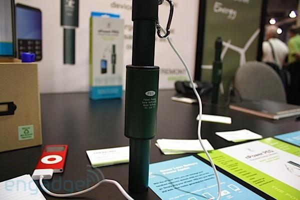 Crapgadget CES, round 4: kinetic energy charger
