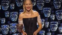 BAFTAs 2018 viewers criticise Jennifer Lawrence for 'rude' remark to Joanna Lumley
