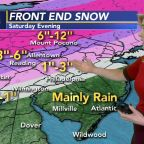AccuWeather: Snow and Rain Showers in AM, Bigger Storm This Weekend