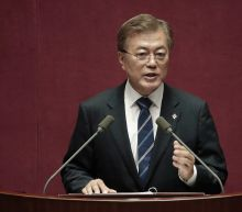 S. Korea's Moon heads to US as North threat grows