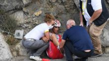 Tour de France - Anthony Perez (Cofidis) : « La voiture a amorti le choc »