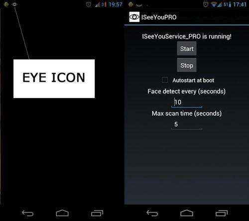 Samsung's SmartStay replicated by ISeeYou Android app, keeps screens on while you're watching