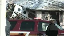 Plane crashes into Indiana homes
