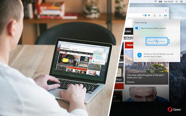 Opera's battery-saving web browser is now available to everyone