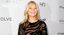 Kate Moss shrugs off wardrobe malfunction in see-through dress