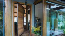 Mais de 20 jardins para decorar a entrada da sua casa (sobretudo para áreas pequenas)