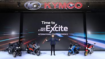 Kymco 新車四連發,RevoNex 超跑之鄉量產啟動