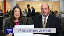 VF Corp Shares Up Nicely