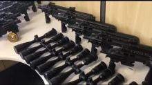 PF faz operação contra tráfico internacional de armas