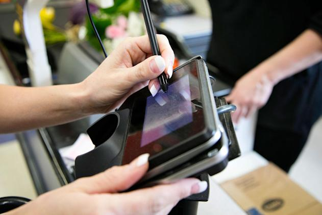 You won't have to sign for credit card purchases much longer