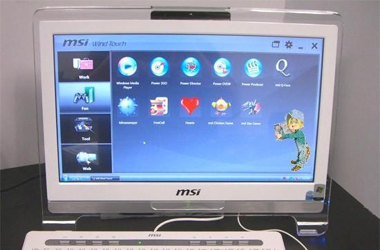 MSI Wind Top AE1900 gets reviewed, patted on the back