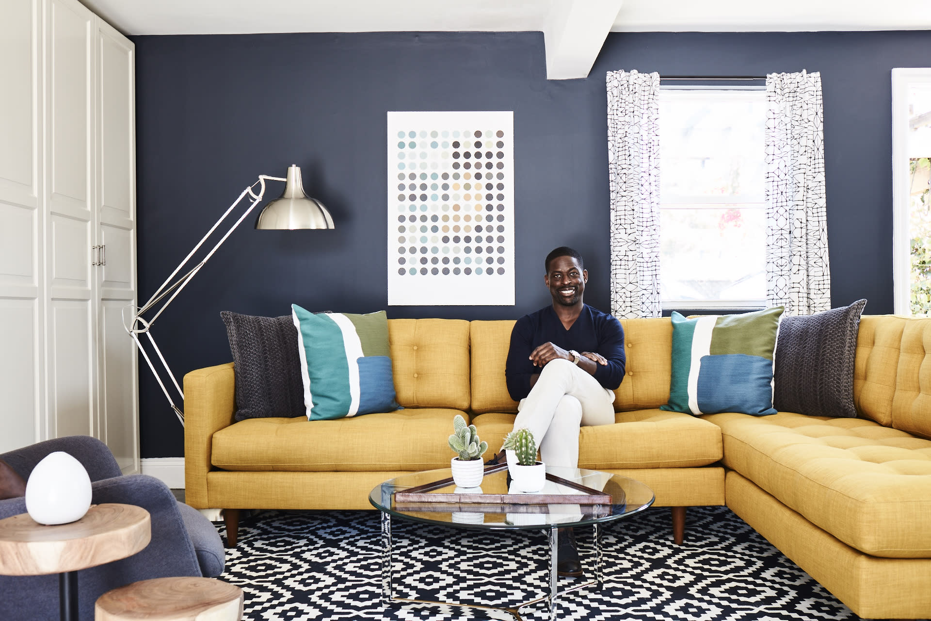 Man Cave Yahoo Answers : Inside this is us star sterling k brown s made over man