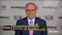 AutoNation CEO Carl Liebert weighs in on quarterly earnings