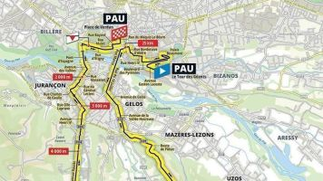 Tour de France 2019: Stage 13 preview, time-trial start times, prediction and route around Pau