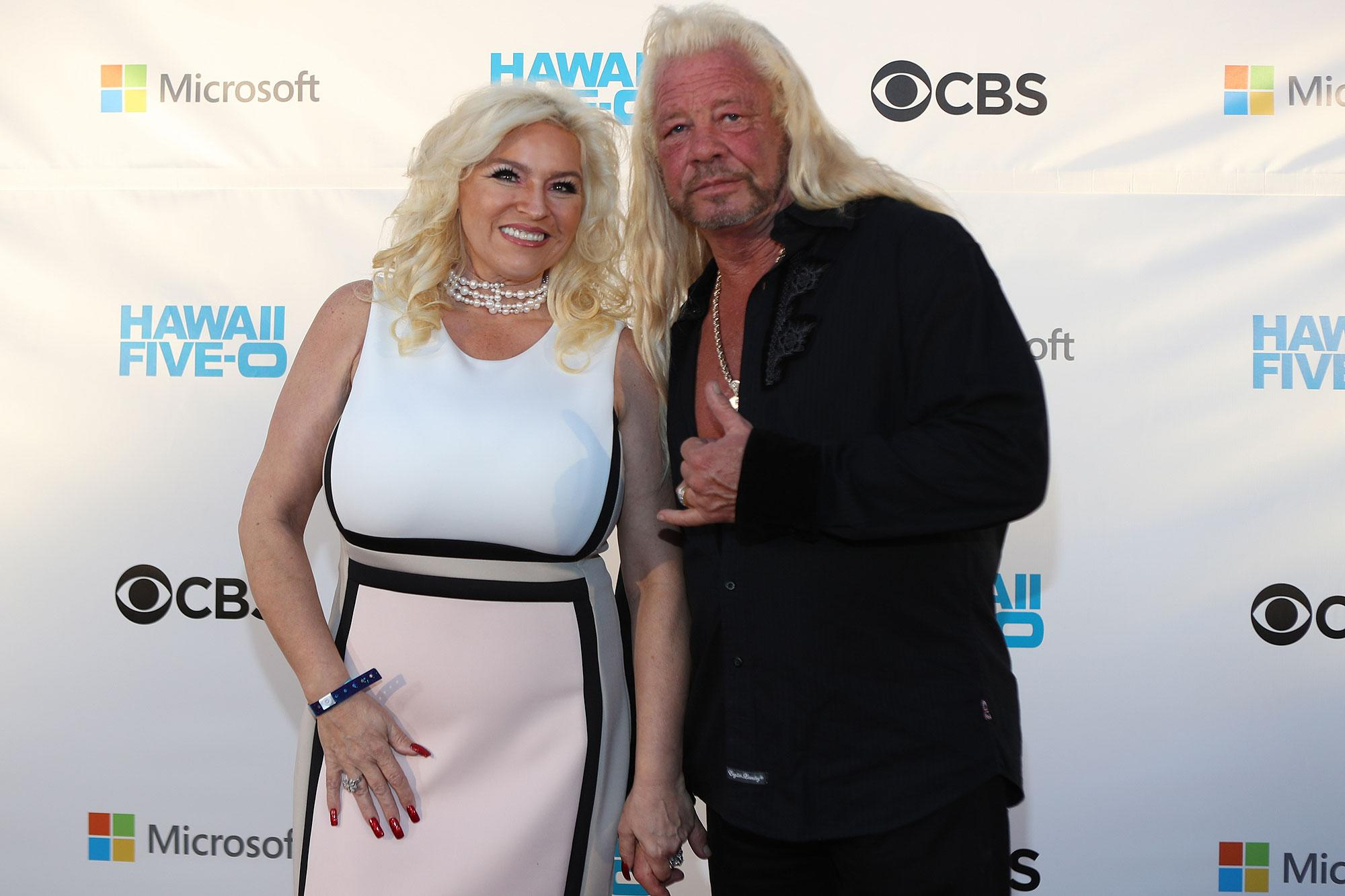 Dog the bounty hunter reveals wife beth chapman is cancer free for Dog the bounty hunter divorce beth
