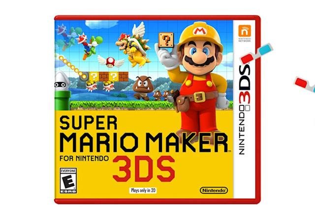 'Super Mario Maker' for the 3DS only plays in 2D