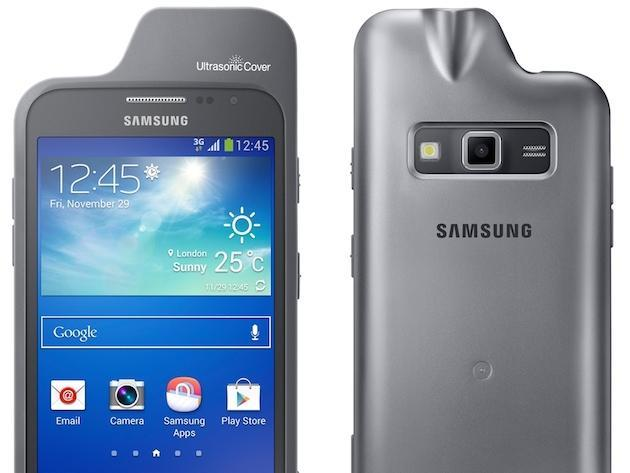 Samsung's new smartphone case uses ultrasound to detect people and objects