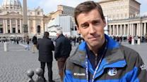 Brian Taff reports from the Vatican