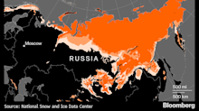 Russia's Thawing Permafrost May Cost Economy $2.3 Billion a Year