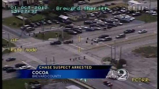 Man in Brevard chase to face judge